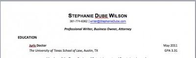 Stephanie Dwilson 2