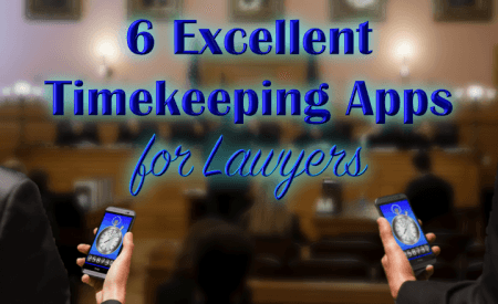 timekeeping apps for lawyers