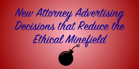 attorney advertising decision