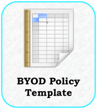 BYOD Policy Icon