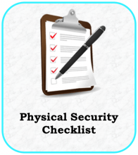 Physical Security Checklist Icon