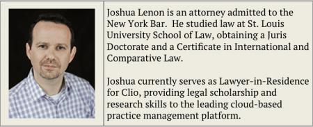Joshua Lenon Bio