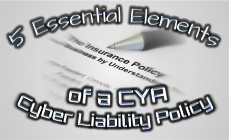 cyber liability policy